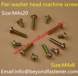 Maschinen-Schraube, schwarze Beschichtung-Käse-Kopf-Maschinen-Schraube