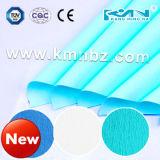 Papel de Crepe del verde de la esterilización de Kmn