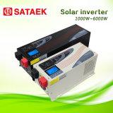 fora do inversor solar solar dos sistemas de energia 1000W-6000W da grade