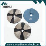 3 Terrco 기계를 위한 인치 4 세그먼트 다이아몬드 구체적인 가는 디스크