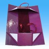 Бумажное складывая вино кладет коробку в коробку /Card сложенную доской