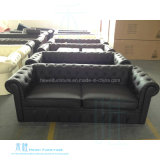 Jane-europäisches Art-Wohnzimmer-Leder-Sofa eingestellt (HW-6661S)