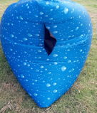 Anbietende neue Farben-Luft aufblasbares Sofa (S110)