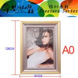 Het Frame dat van de Kunst van het aluminium Frame toont