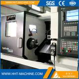 Equipo de la cortadora del torno de la rueda del CNC del precio bajo de Tck-45sm para la pequeña empresa