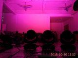 luz de lavagem do efeito da cabeça movente do diodo emissor de luz dos watts RGBW de 108PCS *3 para o estágio do DJ do disco (HL-006YS)