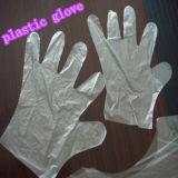 Geprägter transparenter HDPE Handschuh mit 0.6g/PC, 26*28