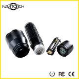 Linterna mecánica del mantenimiento LED del tiempo duradero recargable de la aleación de aluminio (NK-2662)