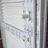 Белая дверь Casement профиля цвета UPVC & дверь Kz343 штарки Casement