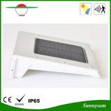 Lumière solaire de détecteur de mouvement IP65 pour la villa extérieure de jardin