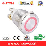 Onpow 19mm Drukknop Switch (GQ19 Series, CCC, Ce, RoHS)
