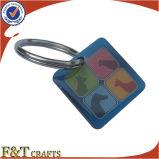 Stampa di derivazione nessun marchio su ordinazione minimo Keychains con Expoy (FTKC1726A)