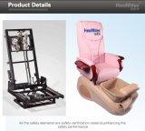 Крышка кожи массажа Shiatsu первоначально предложения франтовская используемая для стула Pedicure