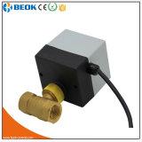 Válvula de actuador eléctrica motorizada 3 maneras de la vávula de bola