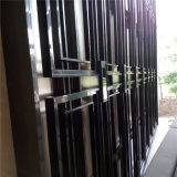 Forma Design para o quarto Divider de Hotel Partition Screen Stainless Steel Color