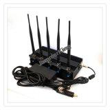 Emittente di disturbo mobile del &GPS di &WiFi dell'antenna incorporata, stampo del segnale, 5 fasce stazionarie registrabili 3G/4G Lte, GPS, emittente di disturbo del cellulare di Lojack/stampo
