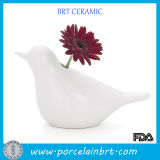 Sale Flower Vaseのための装飾的なWhite Ceramic Cheap Bud Vases