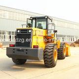 5t Heavy Construction Front Wheel Loader中国製
