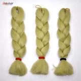Выдвижение 2016 волос Jumbo оплетки Kanekalon X-Pression оплетки волос 100% синтетическое Lbh 016