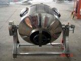 Incliner-Type sanitaire bouilloire revêtue de chauffage au gaz d'acier inoxydable