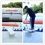 Jeu mécanique gonflable de planche de surfing de Noël