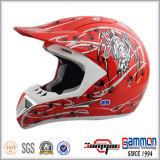 Шлем Motocross ECE красного цвета нового прибытия чисто (CR405)