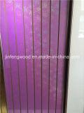 Painéis MDA Slatwall com revestimento de PVC 4 X 8 '