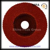 Abrasivo disco de láminas de acero inoxidable, madera, metal, plástico