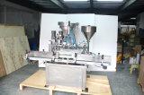 Embotellado líquido del pistón automático pequeño y máquina que capsula