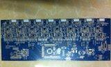 二重側面の青PCBのサーキット・ボード