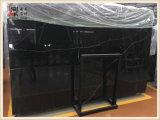 建築材料の黒カラー高品質のNero Marquitaの大理石の平板