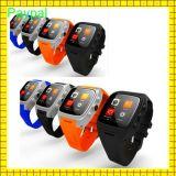 WiFi GPSのスマートな腕時計の電話3G WiFiで構築される防水IP67