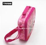 Sacchetto del pranzo del sacchetto di ghiaccio del sacchetto del dispositivo di raffreddamento di stampa del fumetto per i bambini (stampa trasparente del PVC)
