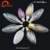Alto fabricante ahorro de energía de la luz de bulbo de la vela de Luen C7 LED