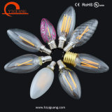 Fabricante elevado energy-saving da luz de bulbo da vela do diodo emissor de luz de Luen C7
