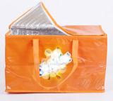 Sac d'emballage isolé stratifié non-tissé extérieur de cadeau de nourriture de refroidisseur de déjeuner