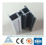 El aluminio del precio de fábrica sacó perfil para la ventana de aluminio de la puerta