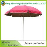 Parapluie promotionnel protégeant du vent de parasol de plage