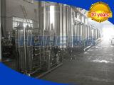 Завершите производственную линию для делать молоко