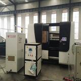 Máquina de estaca automática da folha lisa do laser da fibra da tela 500W