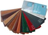 Effetto Windows scorrevole di uragano del PVC con colore della venatura del legno