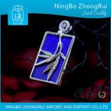 Monili Serie di bambù Pendant 2 del Lazuli di Lapis dell'argento sterlina 925