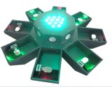 Luz laser de viga del UFO de los ojos de la luz 8 del efecto de etapa