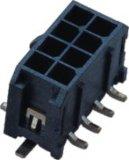 3.0mm doppelte Luft-Verbinder-Gehäuse-Oblate-Mikrominisitz der Reihen-3 P