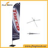 bandierina di alluminio della piuma di stampa di Digitahi di mostra di 3.9m/bandierina di volo