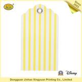 Papierkennsatz-Fall-Marke für Kleider