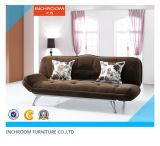 Bâti de sofa faisant le coin se pliant de tissu de meubles de salle de séjour