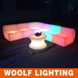 Il LED illumina in su il sofà della barra con il sofà di telecomando LED