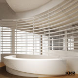 Kingkonreeは固体表面のフロントの固体表面のカウンターをカスタマイズした