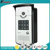 Telefone video barato da porta do IP do preço, o interno ou o ao ar livre da porta do telefone video Knzd-42vr, controlo de segurança